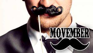 Safetyline Jalousie Join the Movember Movement