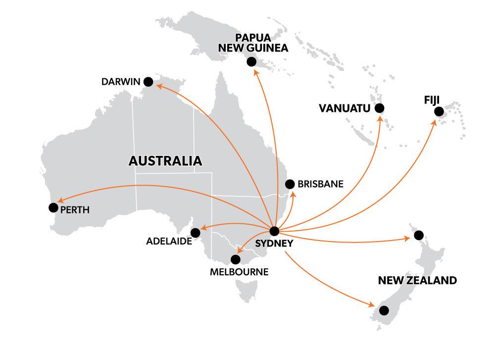 Safetyline Jalousie Supply Chain Map