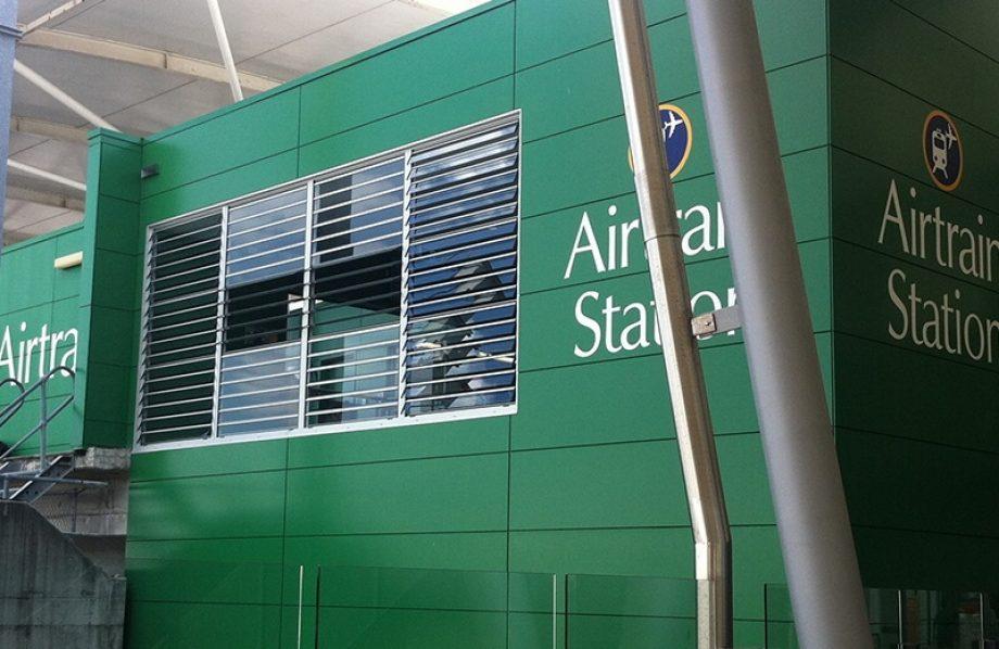 Airtrain Citylink building close up