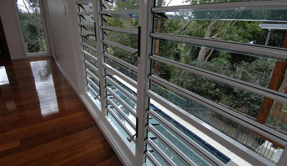 Alderley Residence Louvres close up