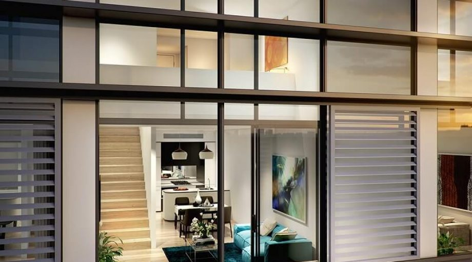 Aqua Apartments Bondi Junction close up