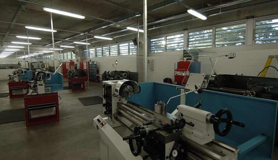 Ausgrid Learning Centre machinery