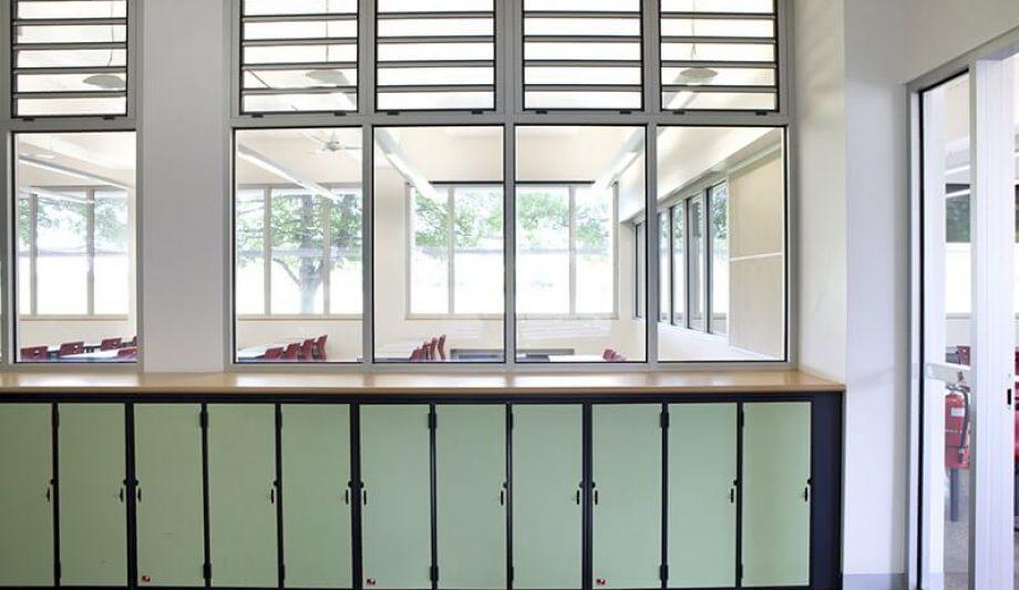 Ballarat Grammar Centennial Building windows 2
