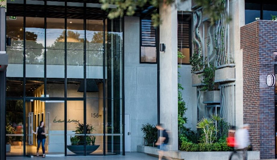 Bohem Apartments entrance