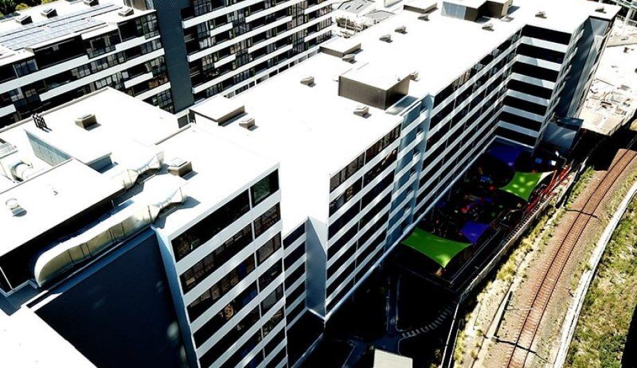 Botania Apartments Aerial view