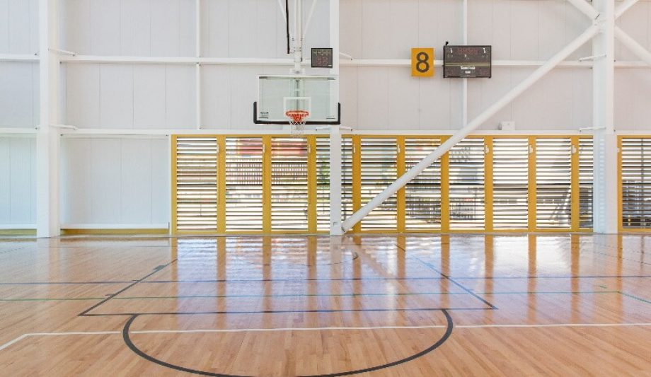 Carrara Sports and Leisure Centre basketball court