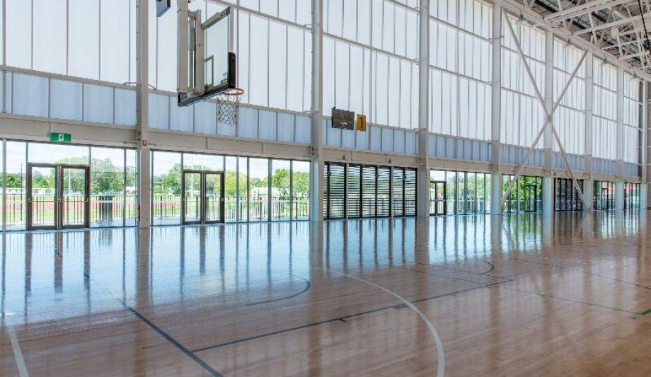 Carrara Sports and Leisure Centre interior