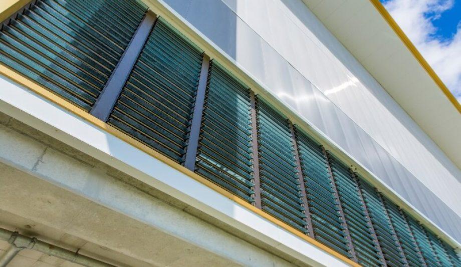 Carrara Sports and Leisure Centre windows