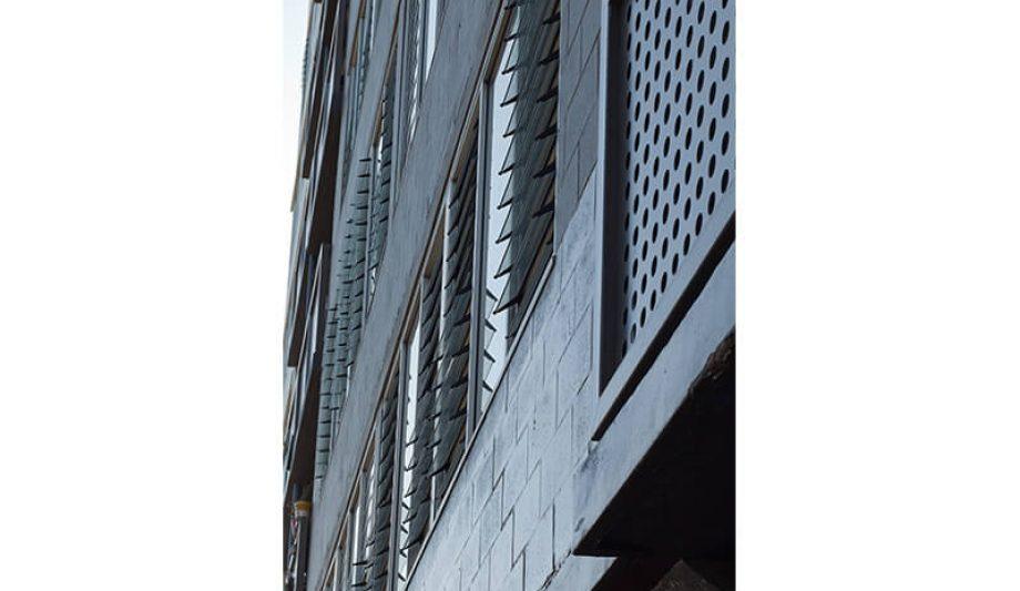 Johanna O'Dea Court building close up