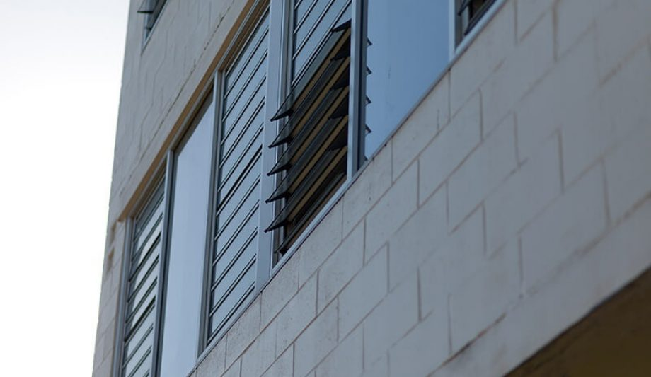 Johanna O'Dea Court building windows