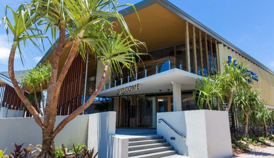 Kurrawa Surf Life Saving Club entrance