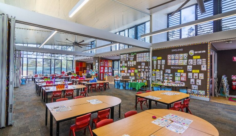 Mary Immaculate Catholic Parish Primary School interior
