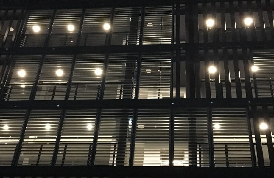 Rosebery Apartments Louvres close up