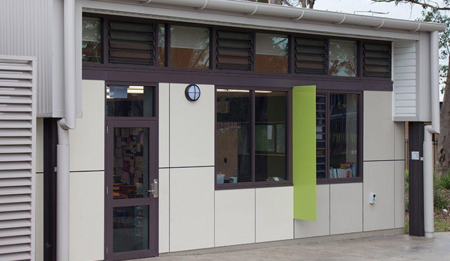 St Justin's Primary School building
