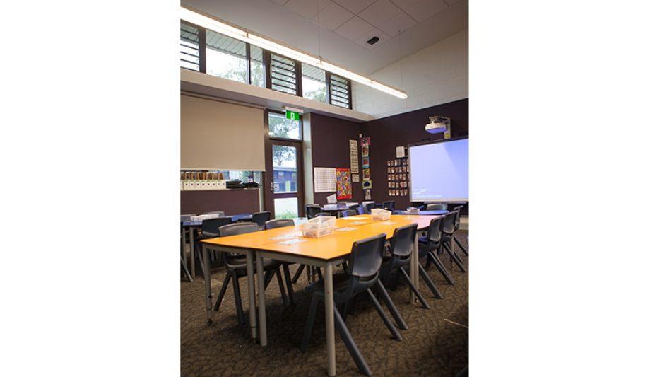 St Justin's Primary School classroom