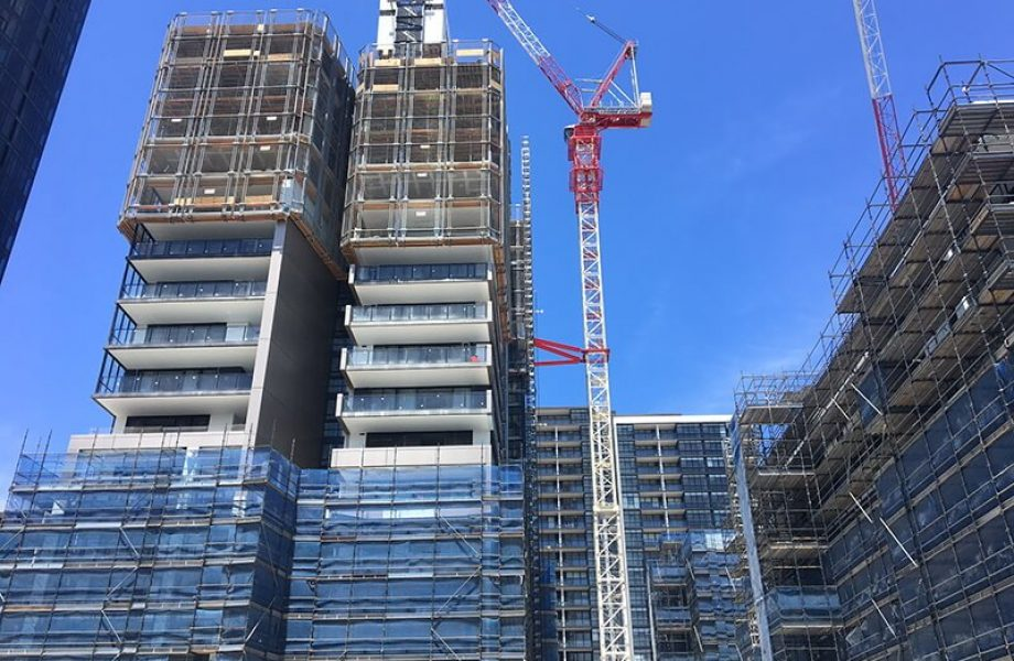Taiga Wentworth Point Construction 2