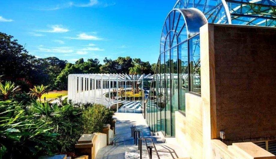 The Calyx Sydney Botanic Garden building
