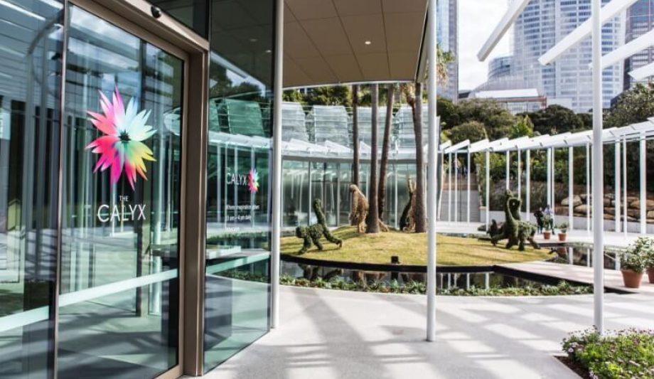 The Calyx Sydney Botanic Garden entrance
