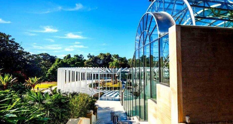 The Calyx Sydney Botanic Garden front