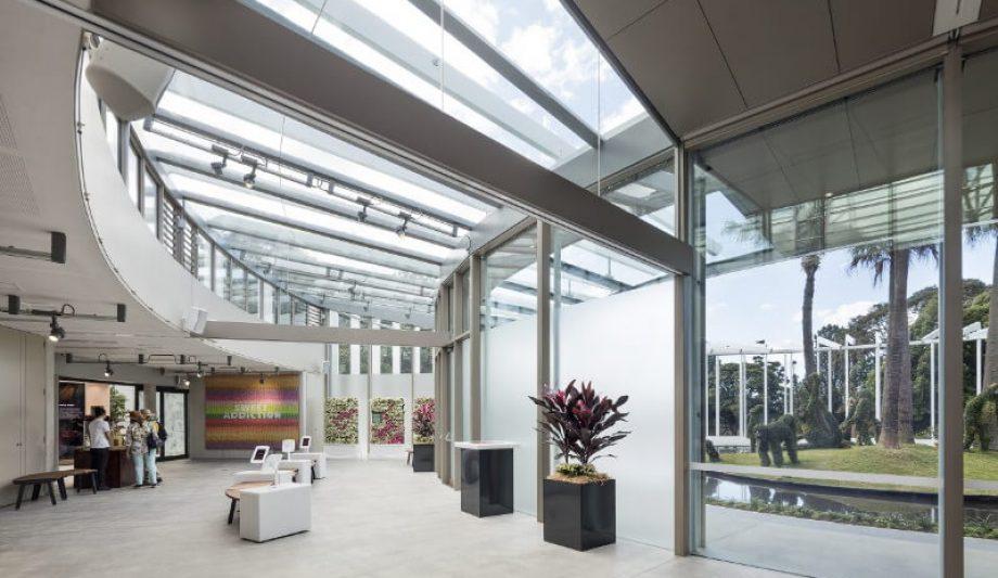 The Calyx Sydney Botanic Garden interior 2