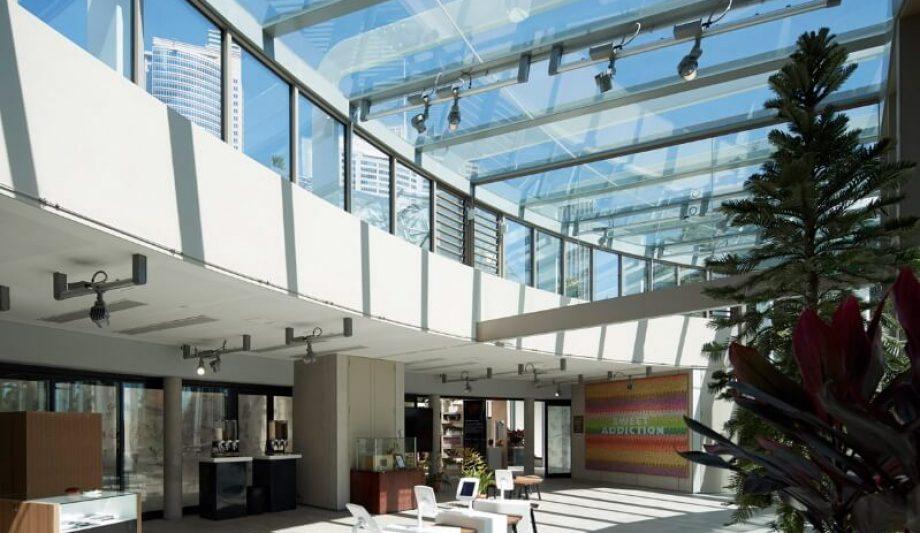 The Calyx Sydney Botanic Garden interior