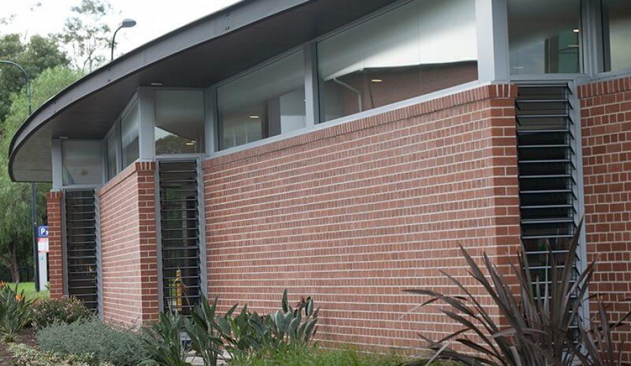 UWS Paramatta Campus Childcare Centre Building Clsoe up